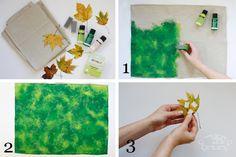 Herbstliche Platzdeckchen mit Blättermotiv - limango Lieblingsplatz - Der neue Blog von limango.de