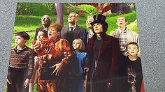 JOHNNY DEPP CHARLIE AND THE CHOCOLATE FACTORY FAN PHOTO PICTURE 8X10 COLLECTOR