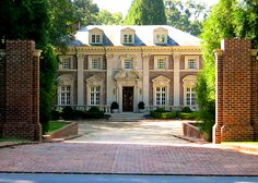 Willis Jones House, 520 West Paces Ferry Road,designed by Neel Reid in 1922 and moved from Peachtree Road, once the headquarters of the Atlanta Historical Society. I die, by the way.