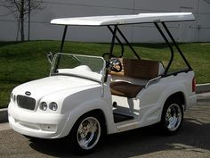 Bentley Golf Cart #golfcart