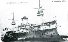 """ Saigon "" типа"" Redoutable "" броненосец Франции 1876 г"