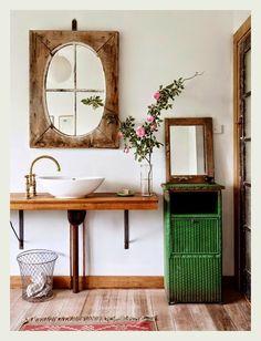Home Interior Inspiration rustic bathroom / the design files.Home Interior Inspiration rustic bathroom / the design files Bathroom Inspiration, Interior Inspiration, Bathroom Ideas, Simple Bathroom, Bathroom Hacks, Interior Ideas, Modern Bathroom, Color Inspiration, Boho Dekor