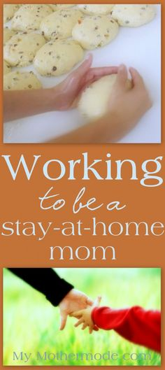 """Working to be a stay-at-home mom.  We sacrifice more than meets the eye so that I can simply BE THERE.  How I left the """"workforce"""" to raise our children..."""