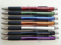 Boligrafos Metalicos Smart Grabados con Laser.