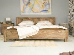 Masivní manželská postel 180x200 Rabatz z palisandru