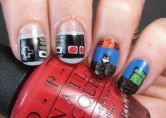 The Digit-al Dozen DOES Decades, Day 3: Nintendo Nail Art ...