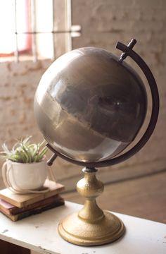 Natural Metal Globe
