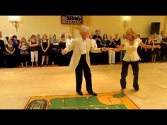 Dance Exhibition: Shag: Charlie & Jackie Spotlight Dance July 13, 2013 - YouTube