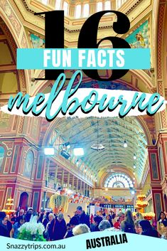 Melbourne, Australia is a bucket list destination, popular for a host of reasons. These fun facts about Melbourne may surprise you and make you want to visit. New Zealand Itinerary, New Zealand Travel, Bucket List Destinations, Travel Destinations, Queen Victoria Market, Melbourne Museum, Exhibition Building, Travel Inspiration, Travel Ideas
