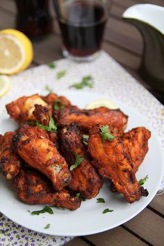 I need to eat these continually.Tandoori chicken wings with Spice Blend! Tandoori Paste, Tandoori Masala, Tostadas, Indian Food Recipes, Asian Recipes, Diabetic Recipes, Tandori Chicken, Schezwan Chicken, Fried Chicken