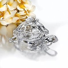 Studio Silversmith 43996 Crystal Turtle Candy Box for sale online Turtles Candy, Baby Turtles, Top 10 Christmas Gifts, Thoughtful Christmas Gifts, Crystal Decor, Clear Crystal, Thanksgiving Day Football, Thing 1, Boxes For Sale