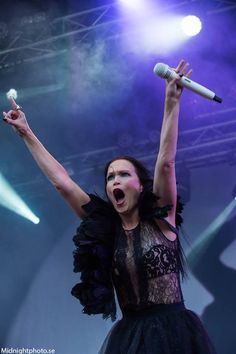 """Tarja Turunen live at """"Skogsröjet 2016"""", Sweden, 06/08/2016 #tarja #tarjaturunen #skogsröjet PH: Midnightphoto https://web.facebook.com/Midnightphoto-1554767128137923/"""