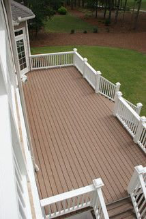 very close to the design of the deck I want on the front of the house