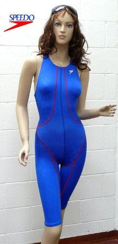 BLOW OUT PRICE!!! CLOSE OUT PRICE!!! Speedo FastSkin Female High Neck Knee Skin High Performance Competition Swim Suit (MA... $39.99