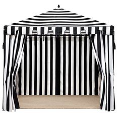 Black u0026 White Stripes  sc 1 st  Pinterest & our Black and White Stripe tents with yellow gray white and ...