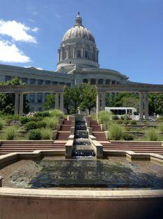 Missouri state Capitol Falls
