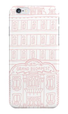 """""""The Grand Budapest Hotel in pink"""" iPhone Cases & Skins by evannave Apple Candy, Candy Apples, Grand Budapest Hotel, Pink Iphone, Branding Design, Iphone Cases, Tech, Learning, Beauty"""
