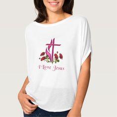 I love Jesus Womans clothing