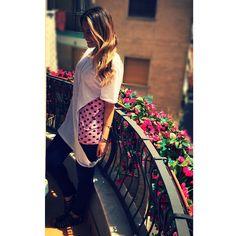 #RamonaAmodeo Ramona Amodeo: @trip_mode @outfitvip BASIC Mania!!! ☀️ #tripmode #outfitvip #basic #tshirt #cool #fashion #style #picoftheday #bestoftheday #photooftheday #instagood #maison #blonde #girls #lovely #dress #naples #goodday #flowers