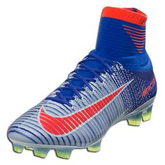 c05fd2033 Nike Women s Mercurial Superfly V Fg - Blue Tint Bright Crimson-Racer  Blue-Volt-Blue Tint