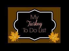 Thanksgiving Planning made easy | Organized Island