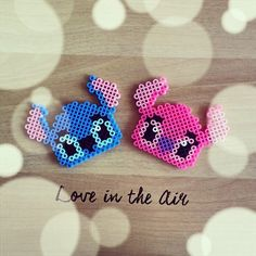 Lilo & Stitch hama perler beads by uniqo8pg