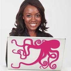 octopus mac sticker