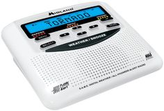 Midland NOAA Weather and All Hazard Public Alert Certified Radio with SAME, Trilingual Display and Alarm Clock - Box Packaging - Survival By Southern Zoomer Emergency Power, Emergency Preparedness, Emergency Radio, Tornado Preparedness, Emergency Planning, Emergency Kits, Emergency Supplies, Radios, Accessories
