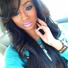 Her #makeup !!! | Beauties, Fashionistas, & All things Fashion!! | #africanamerican #beauty