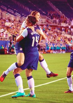 The Dynamic Duo-Alex Morgan and Abby Wambach