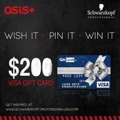 #SchwarzkopfProfessional #WishitPinitWinithttp://pinterest.com/fishercheryl73/schwarzkopf-professional-wish-it-pin-it-win-it/