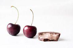 Raw Dark Chocolate Cherry Cream Cups