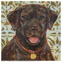 Labrador Retriever by K Tomlin - Unframed Print