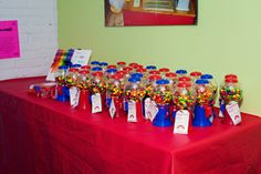 Favors at a Rainbow Party #rainbowparty #favors