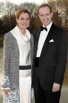 Jean y Filomena, duque y Duquesa de Vendome