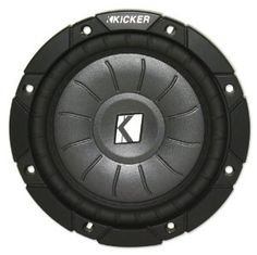 """Kicker 10cvt65-4 Ohm 300 Watt Shallow Mount Car Subwoofer by Kicker. $62.86. BRAND NEW KICKER 10CVT65-4 OHM 300 WATT SHALLOW MOUNT CAR SUBWOOFER Features:  Kicker Comp VT 10CVT65 6.5"""" shallow mount subwoofer Peak Power: 300 watts  RMS Continuous Power: 150 watts  Perfect as an aftermarket subwoofer for added bass, or for replacing a factory subwoofer Shallow-mount subwoofer with true high-performance New model with new and improved basket structure  New model in..."""