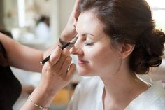 Bridal make over preparation for a Hertfordshire wedding - top tips on how to get the best out of your wedding morning photos © Fiona Kelly Photography Wedding Hair And Makeup, Hair Makeup, Makeup Inspiration, Makeup Ideas, Wedding Preparation, Bridal Make Up, Wedding Morning, Beautiful Bride, Big Day