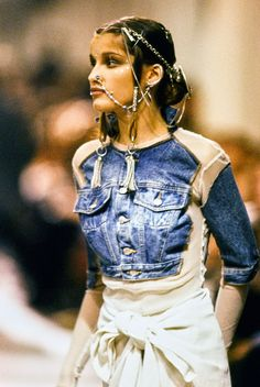 Jean Paul Gaultier Spring 1994 Ready-to-Wear Fashion Show Details