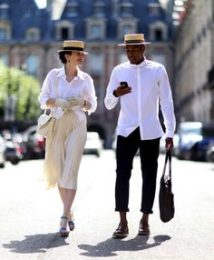 Straw boater hat | mens boater hat | summer boater hat, his and her style