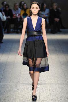 La robe à jupon du défilé Sportmax à Milan