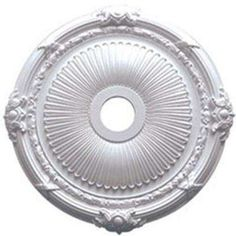 27-1/2 in. O.D. x 3-7/8 in. I.D. x 2-1/4 in. P Heaton Ceiling Medallion