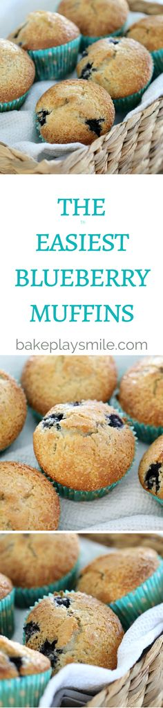 These Easy Blueberry Muffins are absolutely delicious (and so simple!). They…