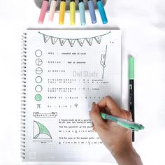 Primary 6 Mathematics on the topic of [ Circles ] Bullet Journal Notes, Bullet Journal Ideas Pages, Pretty Notes, Good Notes, New School Year, Back To School, Vector Calculus, Note Taking