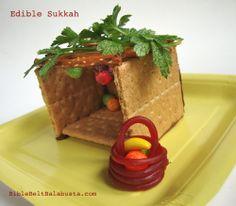 Instant Edible Sukkah: step by step photos | Bible Belt Balabusta