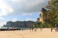 The Railay peninsula not only offers marvelous beaches but is also a true paradise for rock climbers ©Pixabay