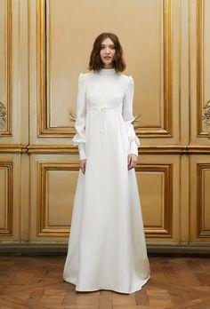 Robe de mariée longue Jonas - Printemps-été 2015 - Pagan Bride Campagne - Delphine Manivet