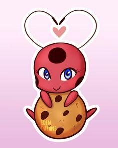 Tikki loves her cookies!