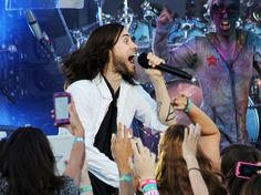30 Seconds To Mars perform on Jimmy Kimmel Live