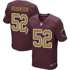 LIMITED Washington Redskins Keenan Robinson Jerseys