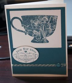 Love the Tea Shoppe done in the Pacific Point color too.